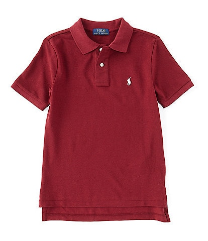 Ralph Lauren Childrenswear Big Boys 8-20 Collegiate Short-Sleeve Mesh Polo Shirt