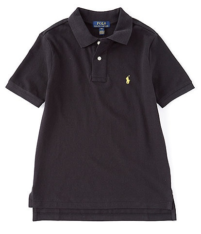 Polo Ralph Lauren Childrenswear Big Boys 8-20 Collegiate Short-Sleeve Mesh Polo Shirt