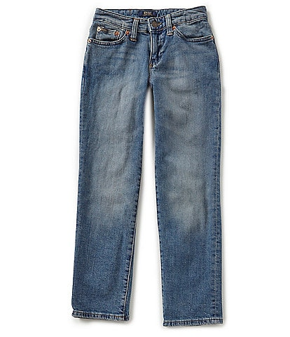 Polo Ralph Lauren Childrenswear Big Boys 8-20 Straight Slim Fit Denim Jeans