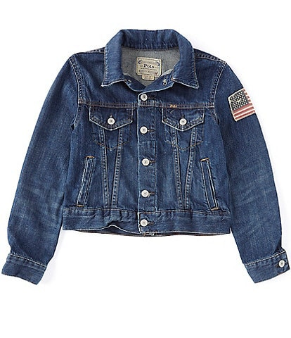 Polo Ralph Lauren Childrenswear Big Boys 8-20 Denim Trucker Jacket