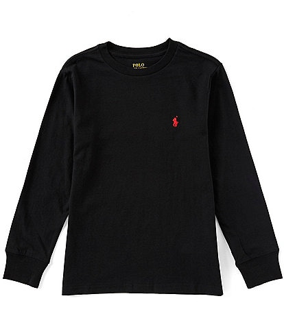 Polo Ralph Lauren Childrenswear Big Boys 8-20 Long Sleeve Jersey T-Shirt