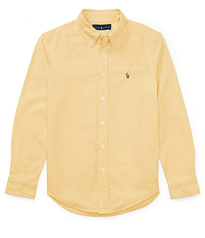 Ralph Lauren Childrenswear Big Boys 8-20 Long-Sleeve Oxford Shirt