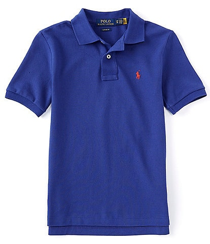 Polo Ralph Lauren Childrenswear Big Boys 8-20 Short-Sleeve Essential Mesh Polo Shirt