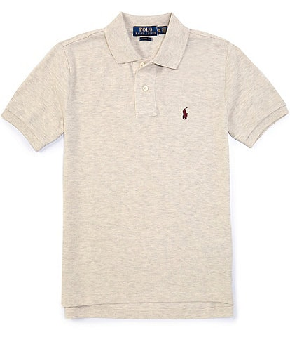 Polo Ralph Lauren Childrenswear Big Boys 8-20 Classic Short-Sleeve Mesh Polo Shirt