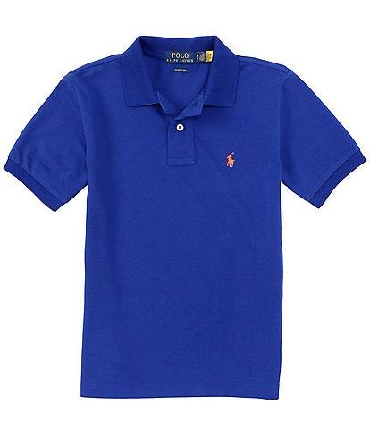 Polo Ralph Lauren Childrenswear Big Boys 8-20 Short-Sleeve Essential Mesh Polo Shirt