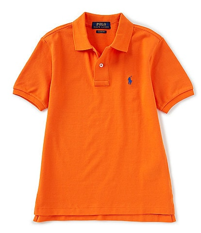 Ralph Lauren Childrenswear Big Boys 8-20 Short-Sleeve Mesh Polo Shirt