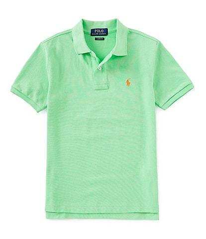 Ralph Lauren Childrenswear Big Boys 8-20 Classic Short-Sleeve Mesh Polo Shirt