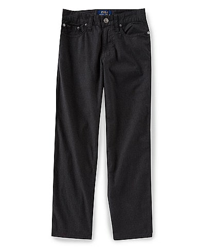 Ralph Lauren Childrenswear Big Boys 8-20 Slim-Fit Stretch Flannel Pants