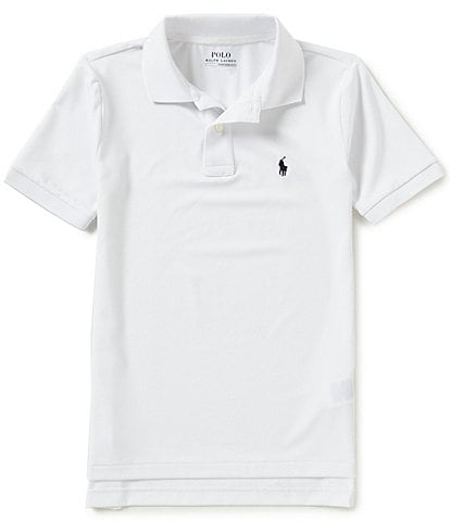 Ralph Lauren Childrenswear Big Boys 8-20 Solid Short-Sleeve Polo Shirt