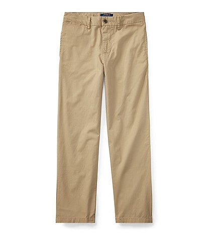 Ralph Lauren Childrenswear Big Boys 8-20 Suffield Flat Front Chino Pants