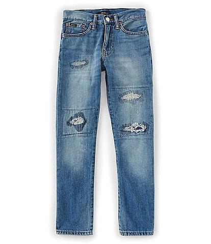 Ralph Lauren Childrenswear Big Boys 8-20 Sullivan Slim Distressed Jeans