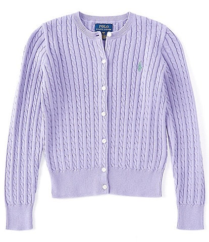 Polo Ralph Lauren Childrenswear Big Girls 7-16 Cardigan Sweater
