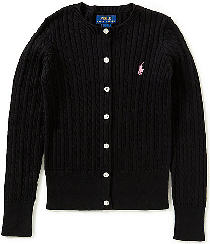 Ralph Lauren Childrenswear Big Girls 7-16 Cardigan Sweater