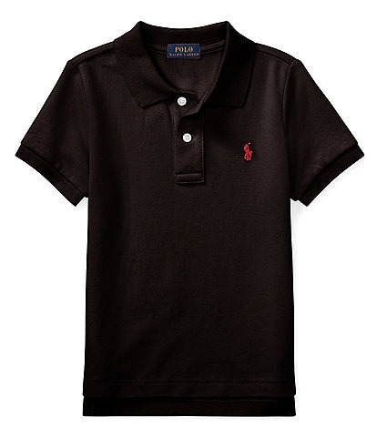 Ralph Lauren Childrenswear Little Boys 2T-7 Classic Mesh Polo Shirt