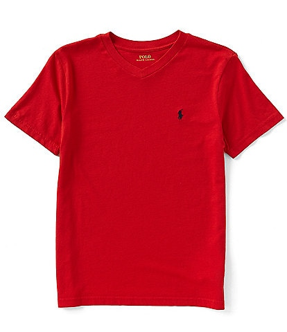 Ralph Lauren Childrenswear Little Boys 2T-7 Short-Sleeve Basic Jersey Tee
