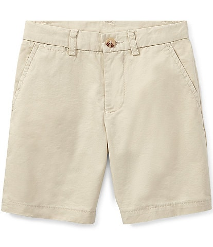 Ralph Lauren Childrenswear Little Boys 2T-7 Flat Front Chino Shorts