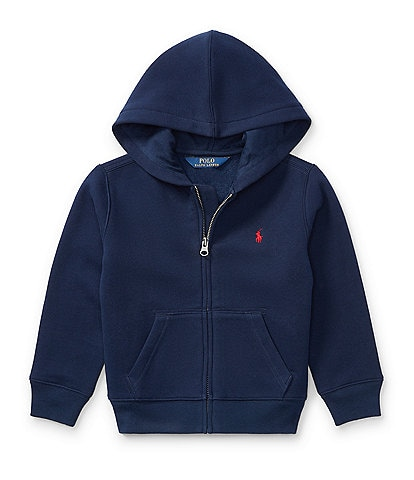 Polo Ralph Lauren Childrenswear Little Boys 2T-7 Full-Zip Hoodie