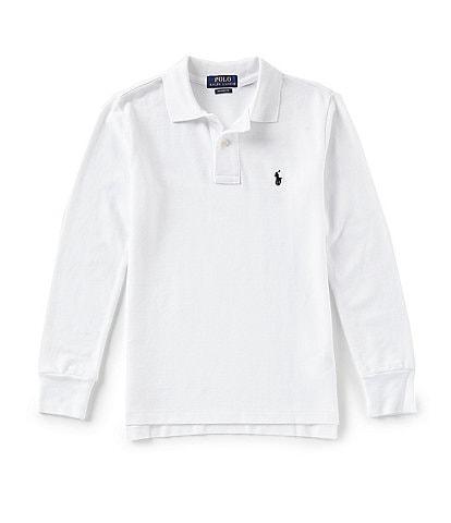 Ralph Lauren Childrenswear Little Boys 2T-7 Long-Sleeve Mesh Polo Shirt