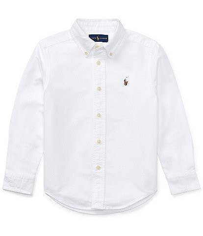 Polo Ralph Lauren Little Boys 2T-7 Long-Sleeve Oxford Shirt