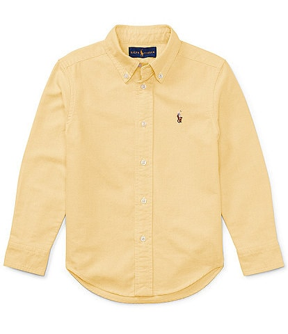 Ralph Lauren Childrenswear Little Boys 2T-7 Long-Sleeve Oxford Shirt