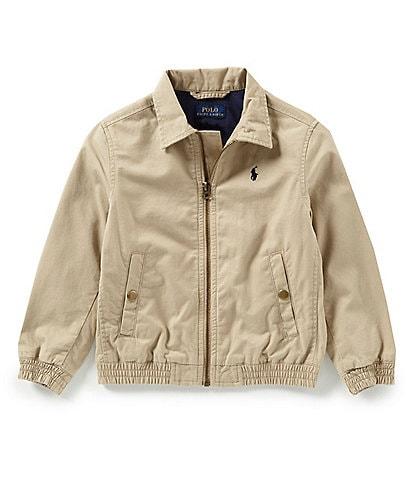 Ralph Lauren Childrenswear Little Boys 2T-7 Long-Sleeve Tissue Chino Wind Breaker
