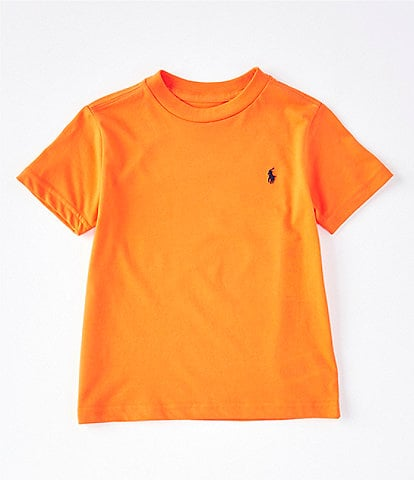 Ralph Lauren Childrenswear Little Boys 2T-7 Short-Sleeve Crew Neck Jersey T-Shirt