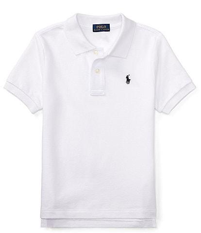 Polo Ralph Lauren Childrenswear Little Boys 2T-7 Classic Short-Sleeve Mesh Polo Shirt