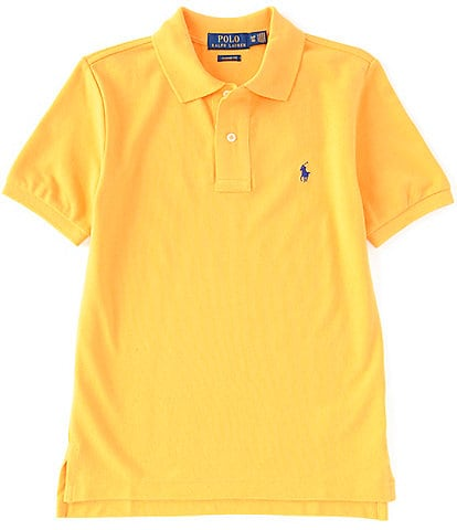 Ralph Lauren Childrenswear Little Boys 2T-7 Classic Short-Sleeve Mesh Polo Shirt