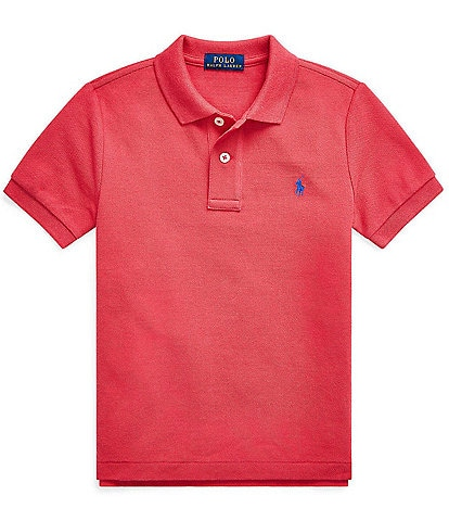 Polo Ralph Lauren Childrenswear Little Boys 2T-7 Classic Short-Sleeve Mesh Polo Shirt