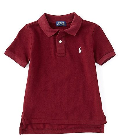 Ralph Lauren Childrenswear Little Boys 2T-7 Short-Sleeve Mesh Polo Shirt