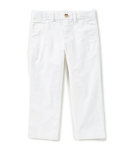 Ralph Lauren Childrenswear Little Boys 2T-7 Suffield Flat-Front Chino Pants