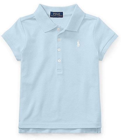 Polo Ralph Lauren Childrenswear Little Girls 2T-6X Mesh Polo Shirt