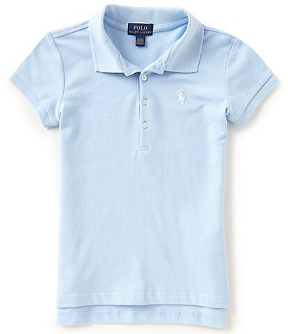 Ralph Lauren Childrenswear Little Girls 2T-6X Mesh Polo Shirt