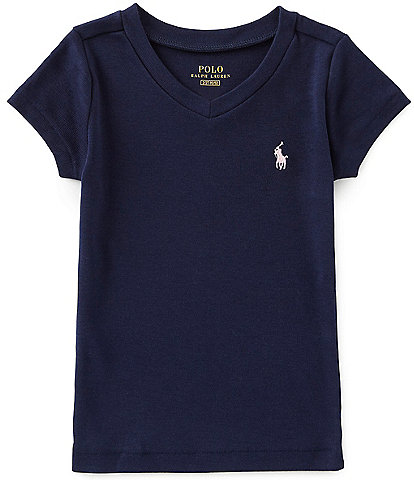 Polo Ralph Lauren Childrenswear Little Girls 2T-6X Short-Sleeve Tee