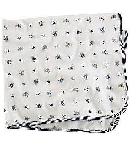 Ralph Lauren Childrenswear Reversible Printed Receiving Blanket