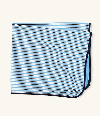 Ralph Lauren Childrenswear Rugby-Stripe Blanket