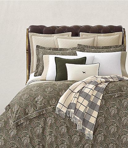 Ralph Lauren Heritage Collection Paisley Comforter