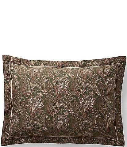 Ralph Lauren Heritage Collection Paisley Sham