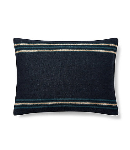 Ralph Lauren Journey's End Collection Mathers Boudoir Pillow