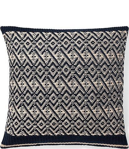 Ralph Lauren Journey's End Collection Ogden Throw Pillow