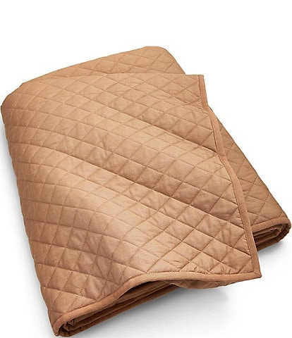 Ralph Lauren Modern Equestrian Cromwell Quilted Cotton Chino Coverlet