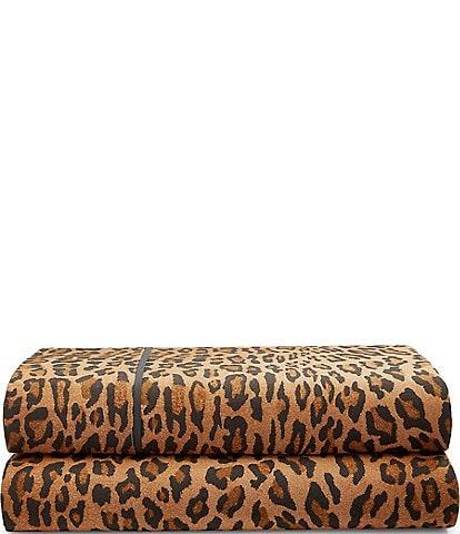 Ralph Lauren Montgomery Leopard Percale Sheets