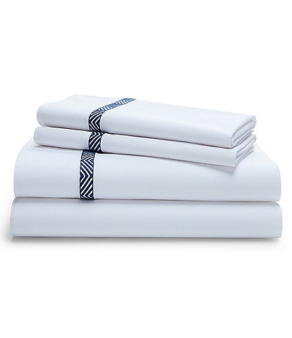 Ralph Lauren Parrot Cay Collection Halsey Percale Sheets