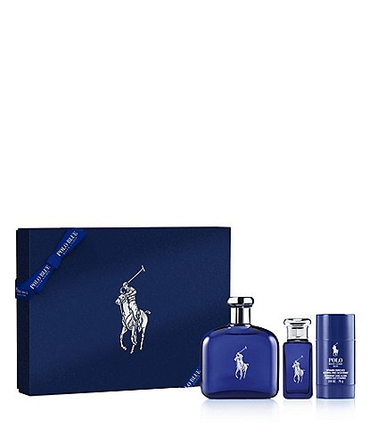Ralph Lauren Polo Blue Eau de Toilette 3-Piece Gift Set