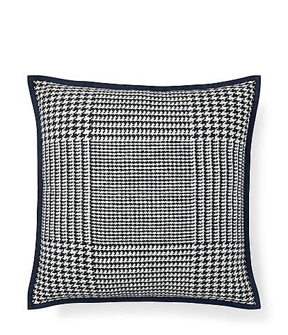 Ralph Lauren Screening Room Collection Monserrat Glenplaid Square Pillow