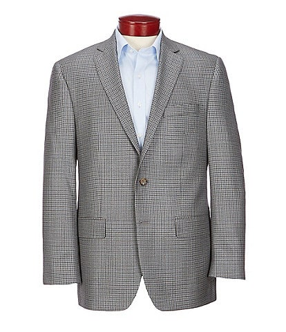 Ralph Ralph Lauren Classic Fit Grey Fancy Wool Blend Sportcoat