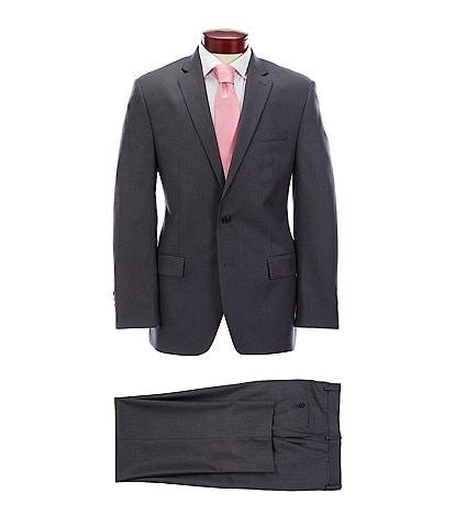 Ralph Ralph Lauren Classic Fit Solid Charcoal Wool Suit