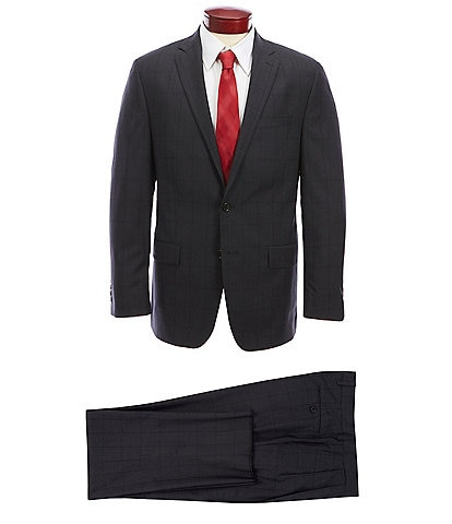 Ralph Ralph Lauren Classic Fit Windowpane Wool Suit