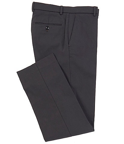 Ralph Ralph Lauren Modern Fit Performance Flat Front Solid Dress Pants