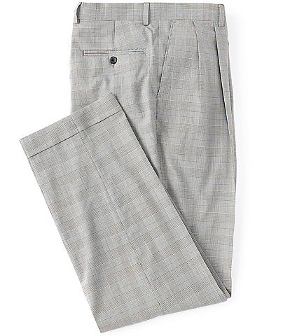 Ralph Ralph Lauren Pleated Relaxed Fit Plaid Dress Pants